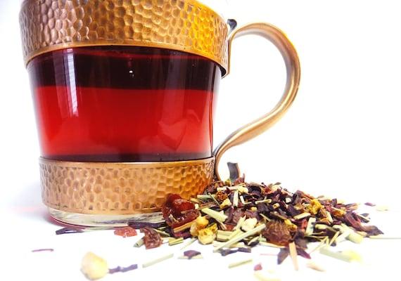 Herbal Loose Leaf Tea Heavenly Hibiscus Organic