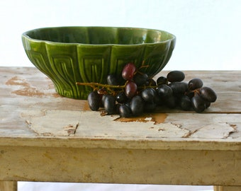 Vintage Glazed Haeger Oval Shaped Planter, Shabby Chic, Cottage Chic, Haeger Pottery