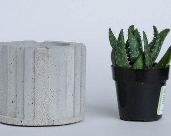 Cement Planter, Neo-Classic