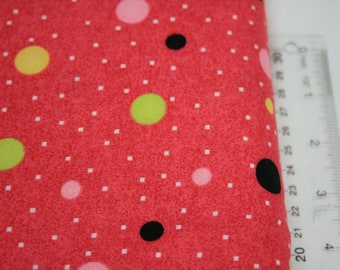 Pink with Colored Dots