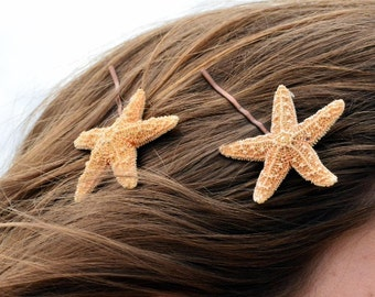 Sugar Starfish Bobby Pins