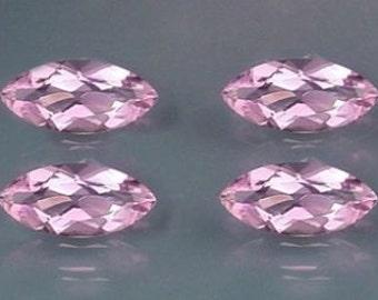four 8x4 marquise amethyst gem stone gemstone 8mm x 4mm