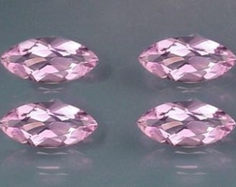 two 8x4 marquise amethyst gem stone gemstone 8mm x 4mm
