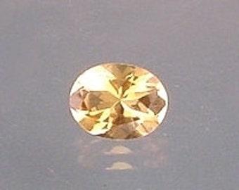 9x7 oval golden citrine gemstone gem stone