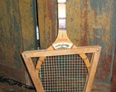 Ace of a great old tennis racket.