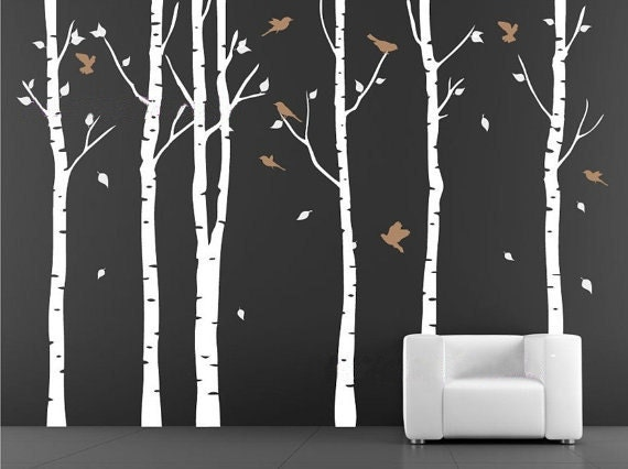 Items Similar To Decal Wall Vinyl Decal Wall Tree Wall