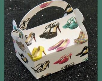 High heel shoes party favor box, high heel shoes jewelry box, high heel shoes shower favor box