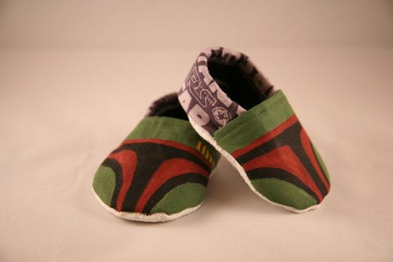 Boba Fett Inspired Baby Booties