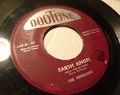 the penguins / dootone 348 Vinyl 45 record / earth angel / hey senorita