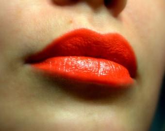 Flamenco Girl - Red Orange Nourishing Lipstick - All Natural