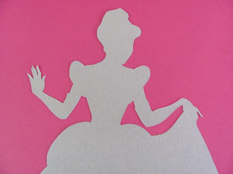 Like this item Printable Cinderella Silhouette