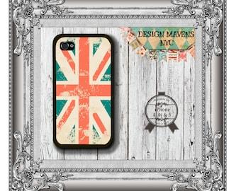 Union Jack Flag iPhone Case, British iPhone Case, England iPhone Case, iPhone 7, 7 Plus, iPhone 6, 6s, 6 Plus, SE, Phone 5, 5s, iPhone 5c, 4