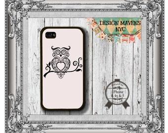 Owl- Topia iPhone Case, Cute Owl iPhone Case, Gift for Her iPhone, iPhone 5, 5s, 5c, 4, 4s, iPhone 6,6s, 6 Plus, SE, iPhone 7, 7 Plus
