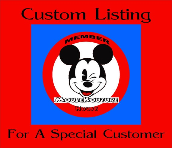 CUSTOM LISTING for jammers25 - Disney Mickey Minnie Halloween Shirt