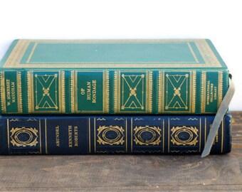 Arundel, Of Human Bondage, SALE, Green 1936, 1959,  Home Decor, vintage books