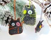 Cat Ornament, Kitty Ornament, Kitschy Kitty Toy