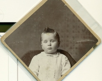 Antique Cabinet Type Photo CLARENCE MATTESON Infant - 22 Months - Minnesota 1800s