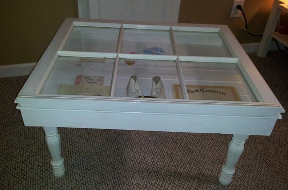 Items Similar To Shadow Box Coffee Table On Etsy