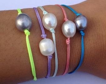 Freshwater Pearl Friendship Bracelet