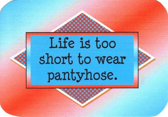 Wear Pantyhose Too 31