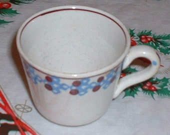 Vintage China Cup & Demitasse Style Make Japan or Czech Made 1950's