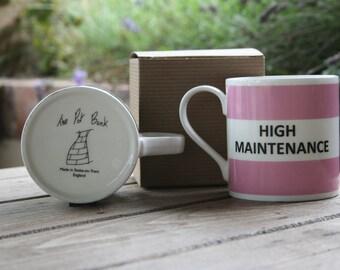 High Maintenance Hoop Mug