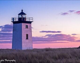 Long Point Light Cape Cod National Seashore Landscape 24x36 Fine Art Canvas
