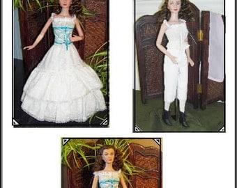 Victorian UNDERGARMENT PATTERN Tonner Tyler 16 inch Vinyl dolls Scarlett, Tyler, Gene