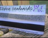 Glitter Eloping Headbands