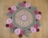 Irish Crochet Rose Doily