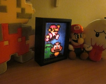 Mario Goomba Light Box