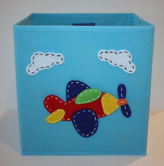 Items similar to kids storage bin toy storage boy room for Kids room toy organizer