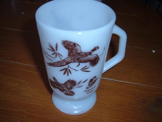 Fireking footed wild birds coffee cup