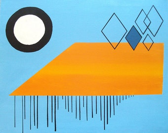 """Geometric Abstraction - """"Solar No. 2"""""""