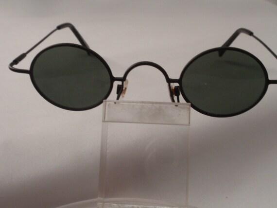 "Vintage Small ""John Lennon specs"" Sunglasses (Black) Retro Small Round Sunglasses, Hippie Round Sunglasses, Cute Small Round sunglasses"