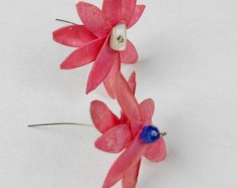 Pink Toona Pod zen flowers 2 toona flowers, handmade home decor