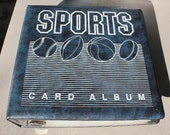 Sports Card Album with 1990 -1992 Pro Set Hockey Cards