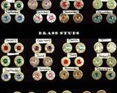 40 Caliber Ultra Thin Bullet Earrings