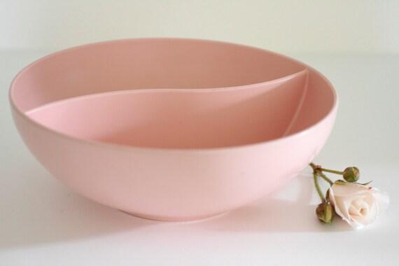 Vintage Pink Melmac Snack Bowl