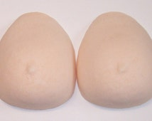 Size L Foam Breast Forms Pair (Large) C/D Cup Falsies Prosthetic Fake Boobs Cosplay/Crossplay