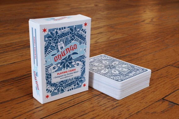 Chicago Playing Card Deck - Full 52 Cards