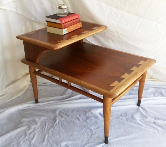 Lane Acclaim Series Coffee Table: Sale 40% Off...Vintage Mid Century Lane Two Tier