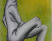 Nude Figure Drawing in Charcoal, Chalk, & Pastel