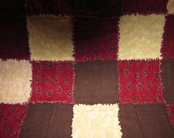 REDUCED Western Rag Quilt