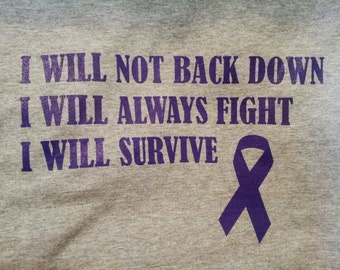 Domestic Violence- I Will Not Back Down