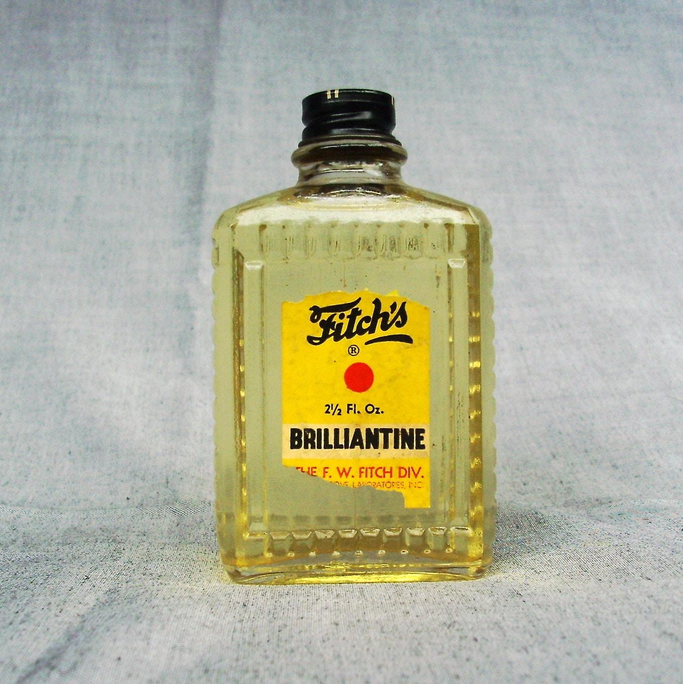 Vintage bottle fitch 39 s brilliantine never opened for Pitture brillantinate
