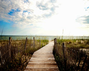 Pathway to the Sea Photograph