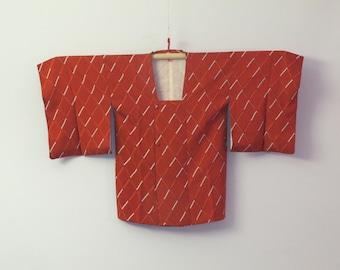 Vintage Kimono Jacket - Michiyuki Haori - Diamonds