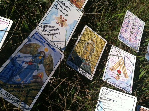 Tarot Reading, Song Based on Tarot Reading, Handwritten Analysis.