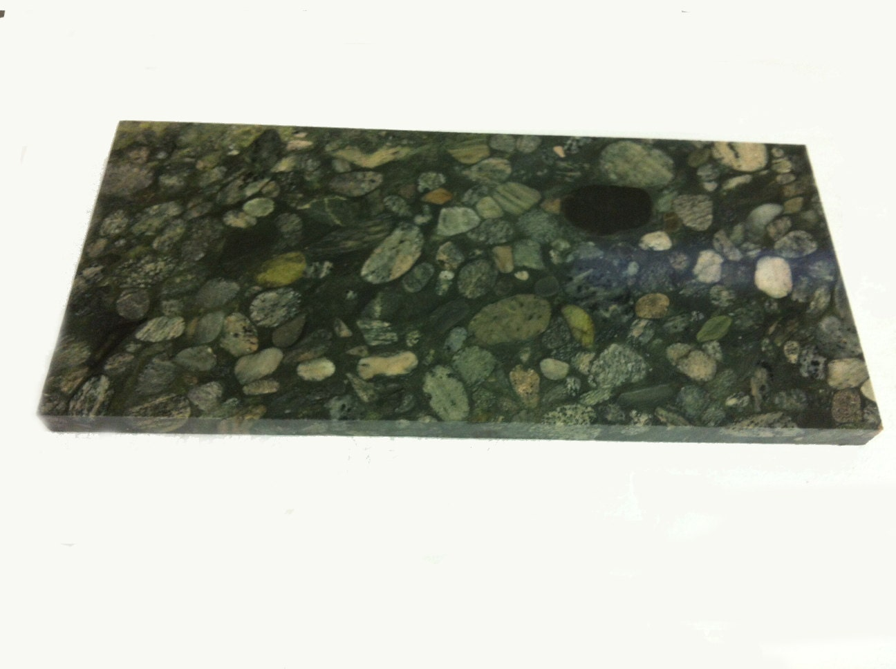 Items Similar To Extra Large Granite Green Marinace